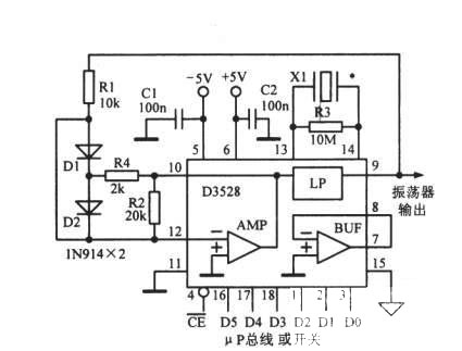数控音频振荡器