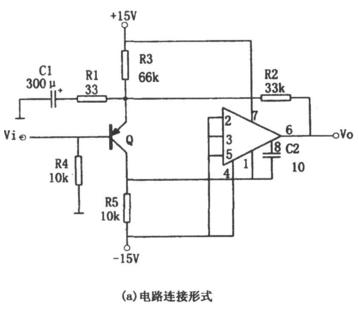 普通低噪声宽带放大电路(OPA101)