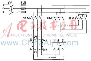 风机电动机起动电路图图片
