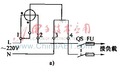 电能计量电路a-电路图-aet-北大中文核心期刊-最丰富