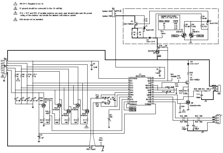 bq33100 超级电容管理器