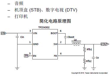TPS54302同步降压转换器