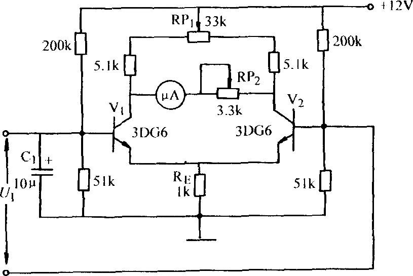 测量微小电流的放大器