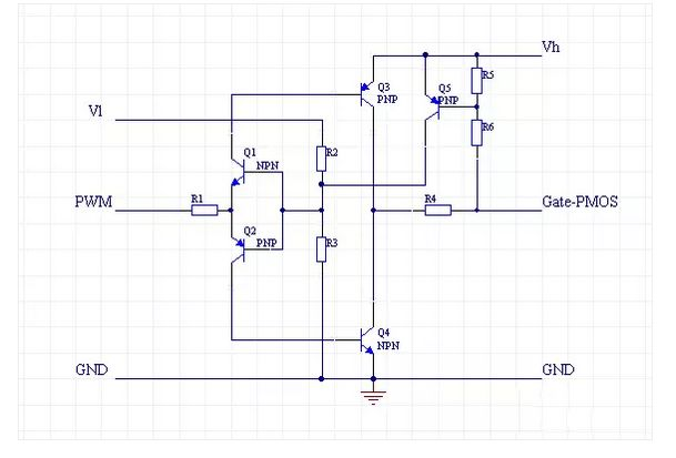 mos管高端驱动电路 高手才可以搞定的mos管调压电路