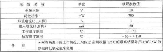 LM1812构成汽车倒车防撞报警器电路图