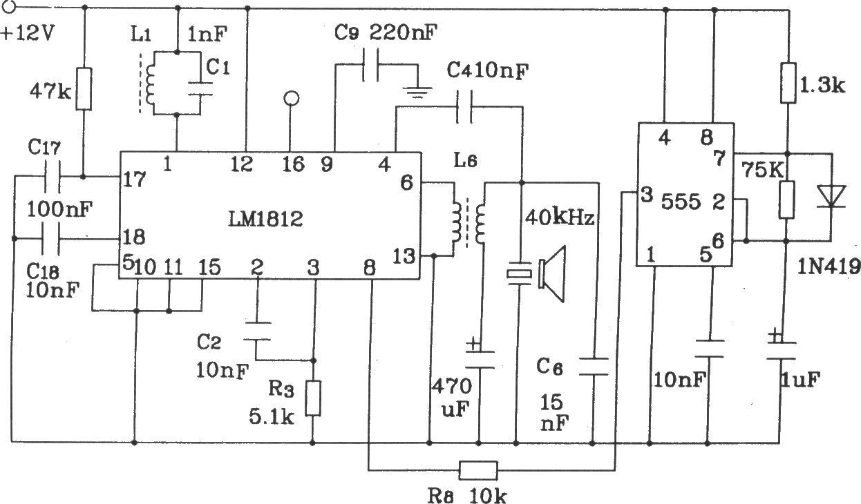 LMl812构成0~6m测距电路