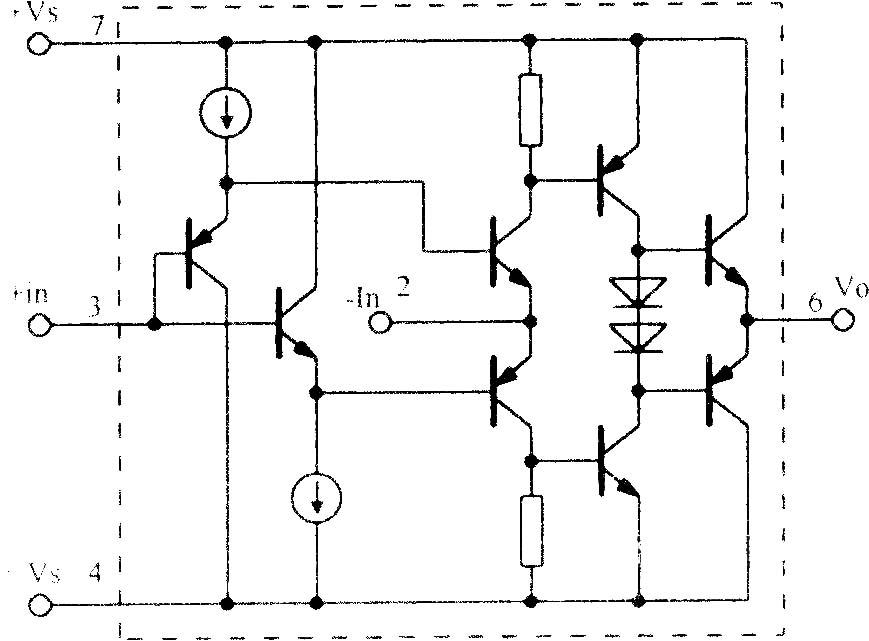高速电流反馈运算放大电路OPA603