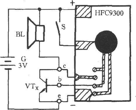 三极管工作性能速测电路-电路图-aet-北大中文核心-最