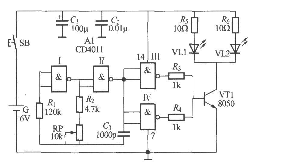 红外光线接收控制器电路