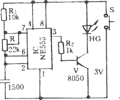 电风扇红外遥控电路(六)