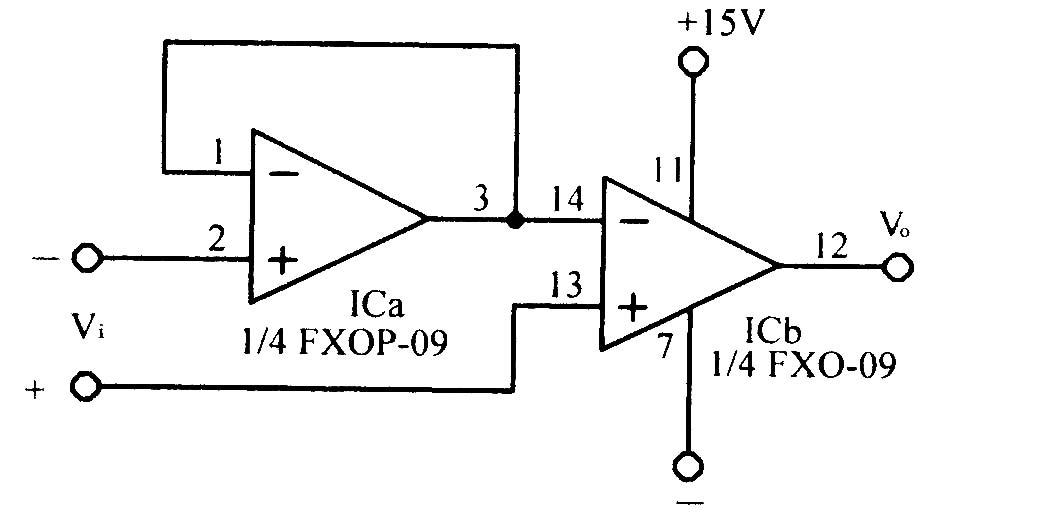 零漂移运算放大电路
