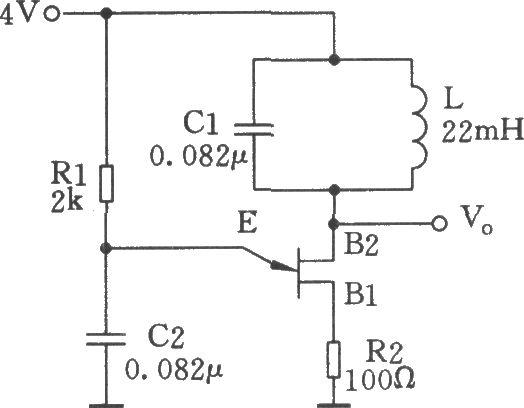 单结晶体管正弦波振荡器-电路图-aet-北大中文核心-最