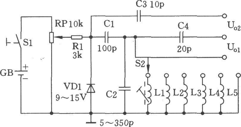 稳压管高频信号发生器