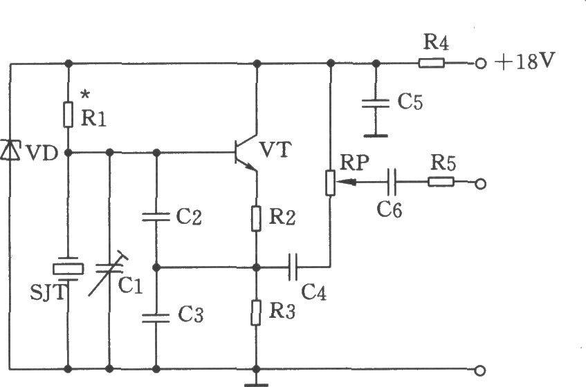 考毕兹振荡器