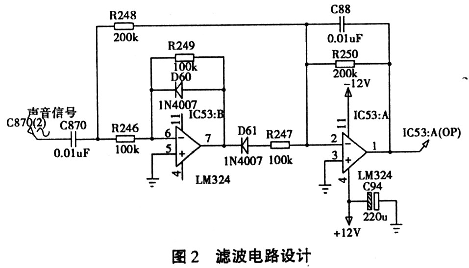 滤波电路设计