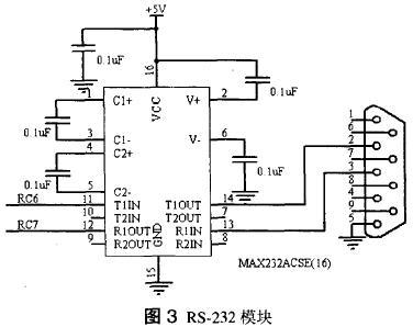 RS-232模块的原理图