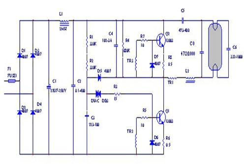110v节能灯电子镇流器设计要领