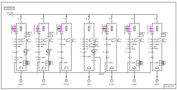 4凹印机系统控制接线图:   3.4.1 plc接线图:   3.5工作过程说明