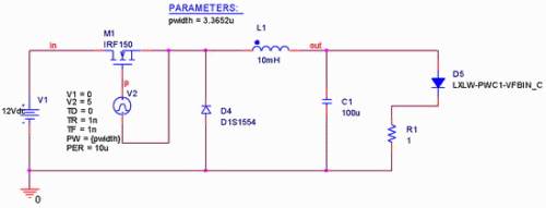 led驱动电路脉冲调制pwm电路设计