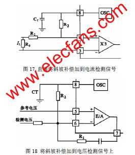 将斜坡补偿加到电压检测信号上 www.elecfans.com