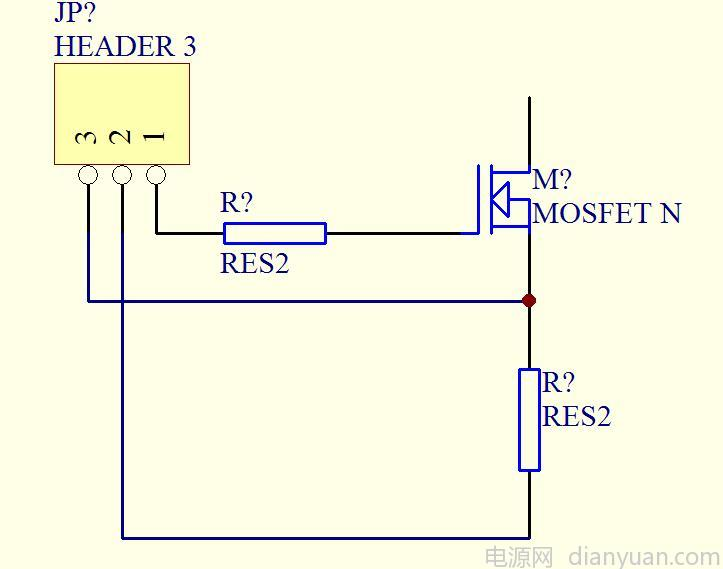 高压mos/igbt的短路保护电路