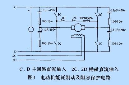 直流电机驱动控制在自带动力靶车中的应用