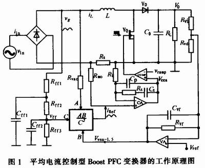 pfc变换器的工作原理图