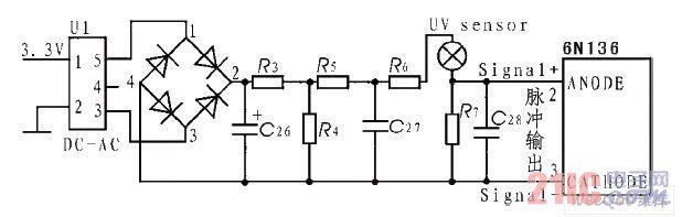 紫外传感器驱动电路