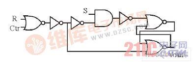 RS触发器电路结构