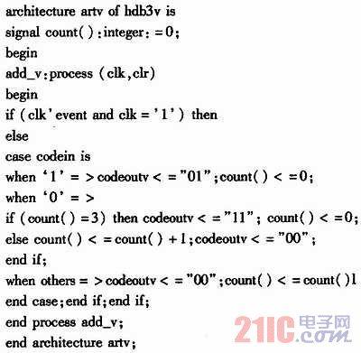 基于CPLD的信道编解码器的设计与实现