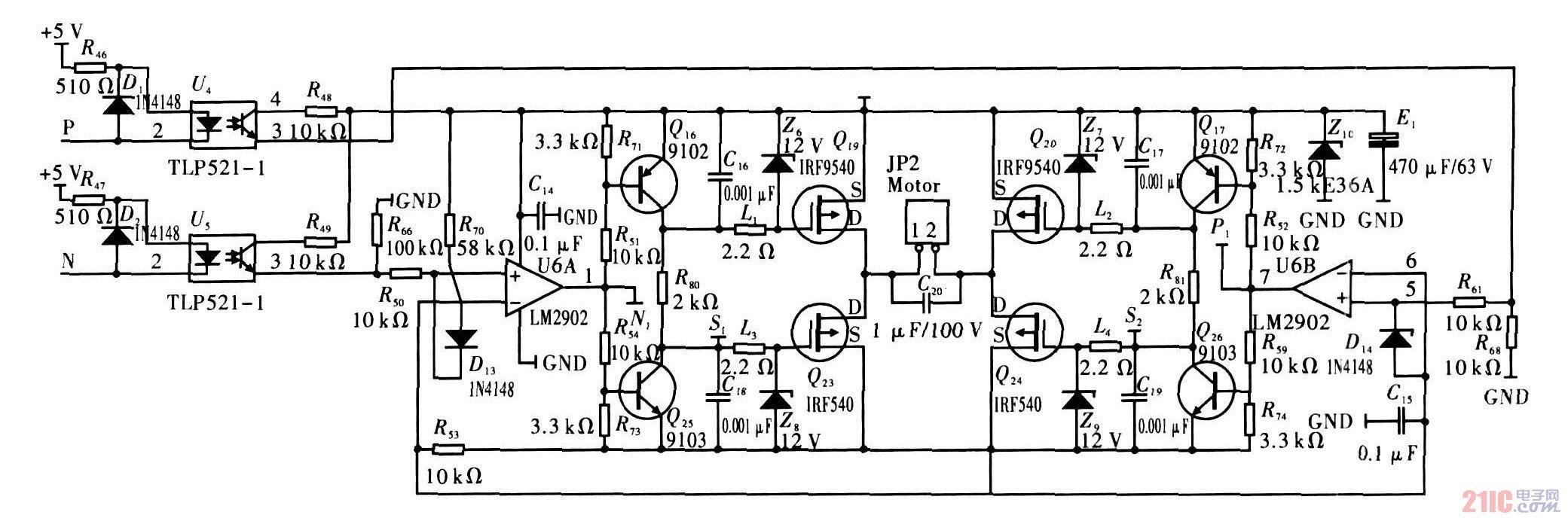 直流调速器|一种24v直流电机驱动器设计