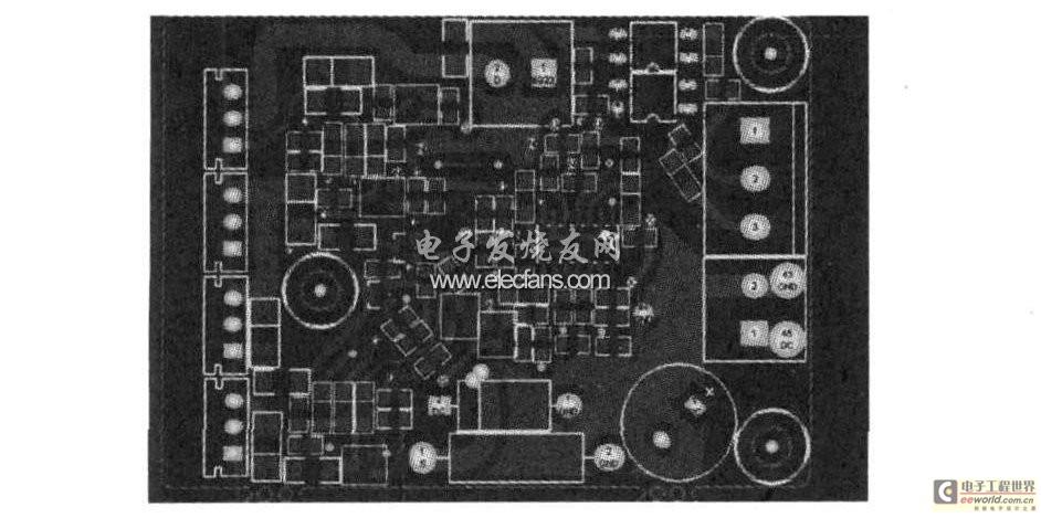 驱动电路PCB板设计图
