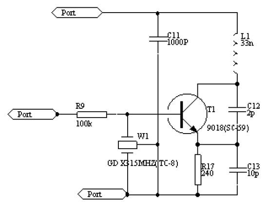 相对于前面的介绍的电路,具有更远的传输距离,更强的抗干扰能力和更易