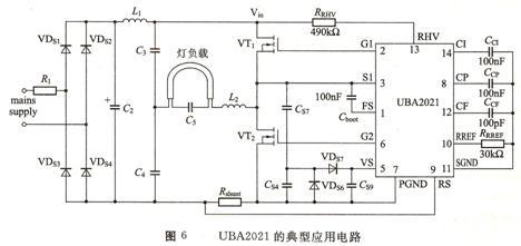 日光灯电子镇流器电路工作原理与应用详解