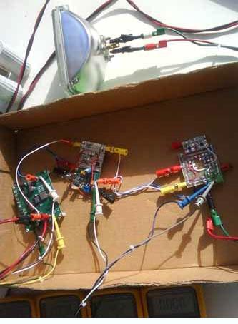 图 4:最终的太阳能充电器电路