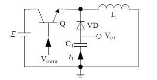 传统的非隔离负电压开关电源电路结构1