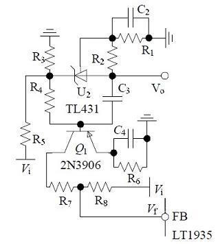 补偿网络硬件电路图