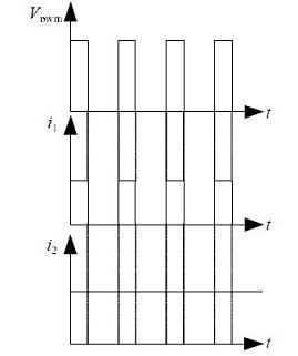 两种开关电源滤波电容的充电电流波形