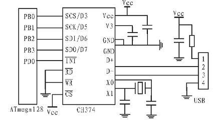 硬件电路示意图