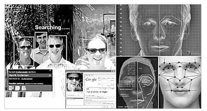 人脸识别技术原理图