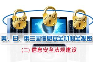美、日、俄三国信息安全机制全揭密(二)信息安全法规建设