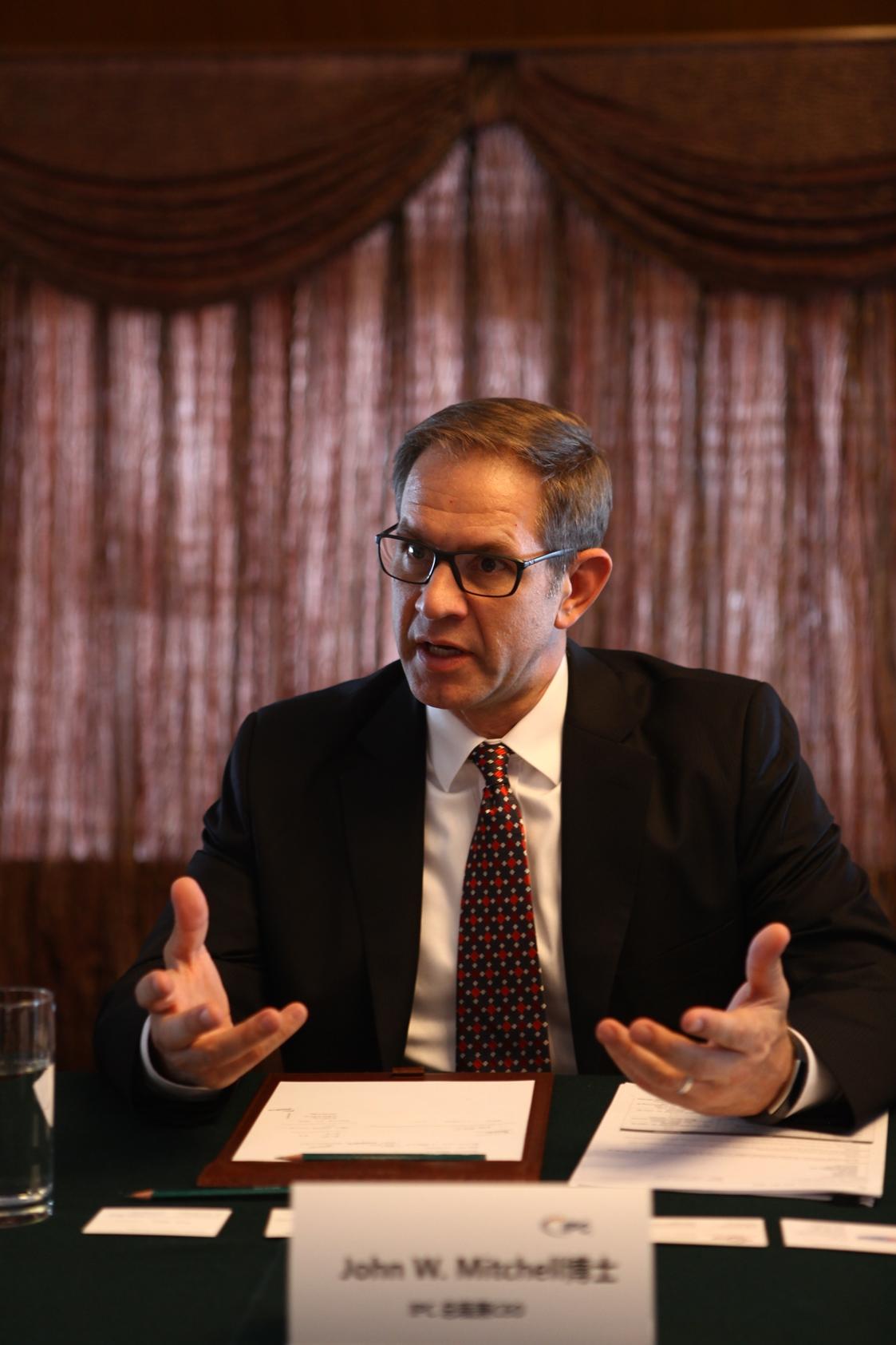 IPC 总裁兼CEO——Dr. John W. Mitchell.JPG
