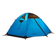 防暴雨铝杆三季帐三人双层帐篷