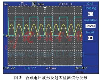 一种简易的交流电压检测电路图片