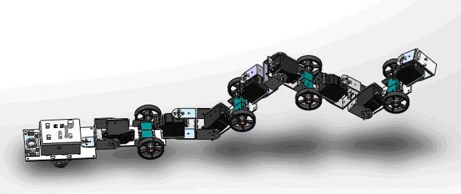 機器蛇機械設計與制作