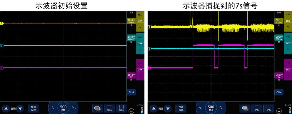 1示波器测高频长串方波脉冲变成了锯齿波.jpg