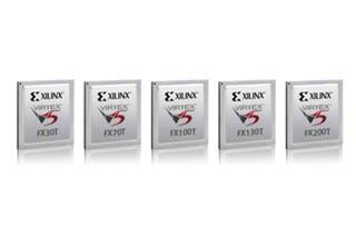 赛灵思公司Virtex-5系列FPGA